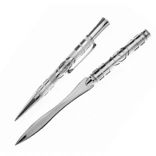 Mackintosh Etched Rose Ballpoint Pen & Paperknife